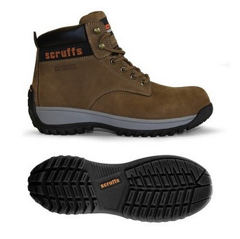 SCRUFFS TYPHOON DUSK SAFETY BOOT (SIZE 8)