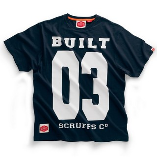 SCRUFFS VINTAGE T-SHIRT NAVY (XL)