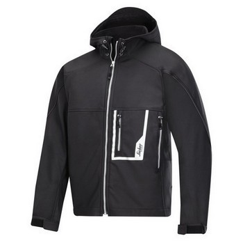 SNICKERS 12190400005 SOFT SHELL JACKET BLACK (XL)