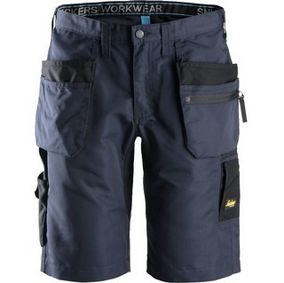 SNICKERS 6101 LITEWORK SHORTS NAVY/BLACK (38W)