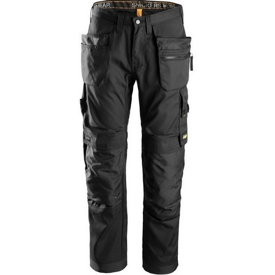 SNICKERS 6200 ALLROUND WORK TROUSERS BLACK (32L, 31W)