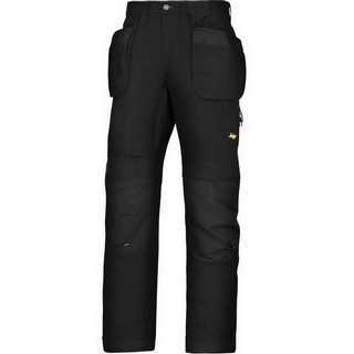 SNICKERS 6207 LITEWORK TROUSERS BLACK (32 INCH LEG)