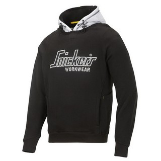 SNICKERS HOODIE SWEATSHIRT BLACK/GREY