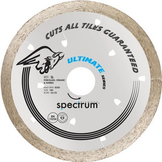SPECTRUM 180MM SL PRO CERAMIC STONE DIAMOND DISC