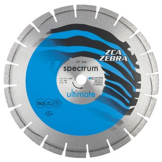 SPECTRUM 300MM ULTIMATE ZCA ZEBRA DIAMOND DISC