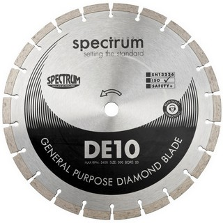 SPECTRUM DE 125MM GENERAL PURPOSE DIAMOND DISC