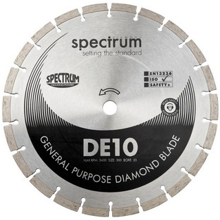 SPECTRUM DE 230MM GENERAL PURPOSE DIAMOND DISC
