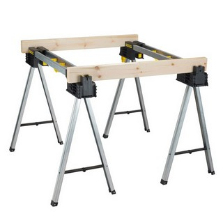 STANLEY METAL SAWHORSE/TRESTLE TWIN PACK