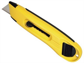 STANLEY STA010088 LIGHTWEIGHT ABS PLASTIC RETRACTABLE KNIFE
