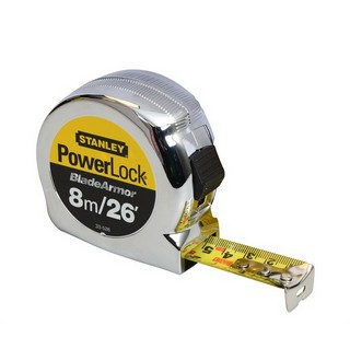 STANLEY STA033526 POWERLOCK TAPE MEASURE 8 METRE