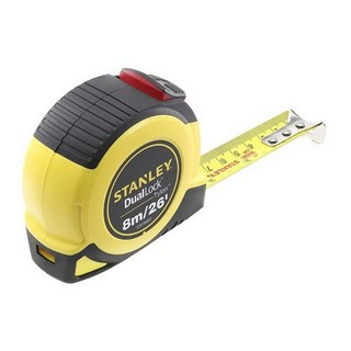 STANLEY STA036807 TYLON DUAL LOCKING TAPE MEASURE 8 METRE