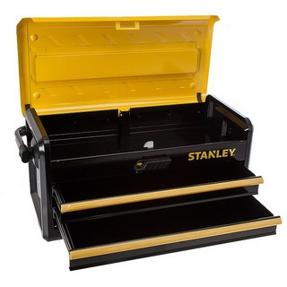STANLEY STA175510 2 DRAWER METAL TOOLBOX 19 INCH