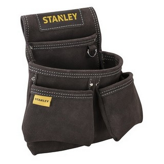 STANLEY STA180116 LEATHER DOUBLE NAIL POCKET POUCH