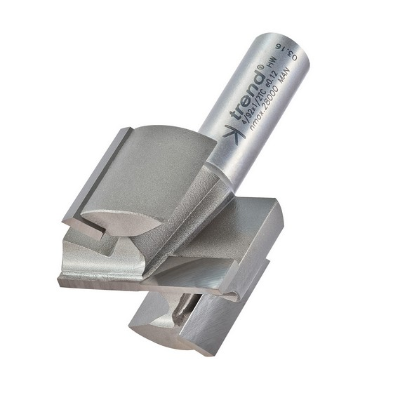 TREND 4/92X1/2TC TWO FLUTE CUTTER 40 MM DIAMETER