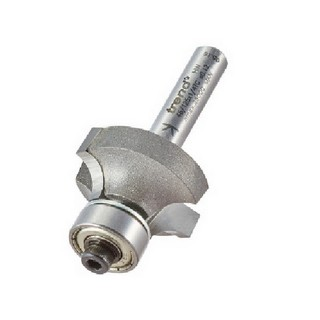 TREND 46/125X1/4TC BEARING GUIDED OVOLO CUTTER 6MM RADIUS