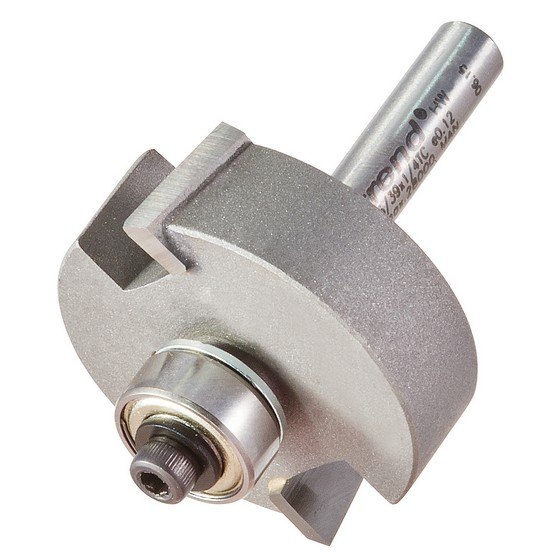 TREND 46/39X1/4TC BEARING GUIDED 35MM DIAMETER REBATER