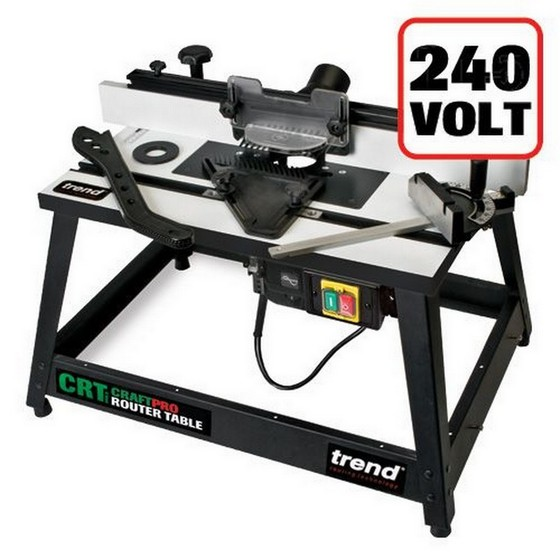 TREND CRT/MK3 CRAFTSMAN ROUTER TABLE MARK 3 240V (ROUTER NOT INCLUDED)