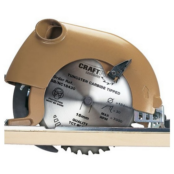 TREND CSB/16552T CRAFT SAW BLADE 165MM X 52T X20MM