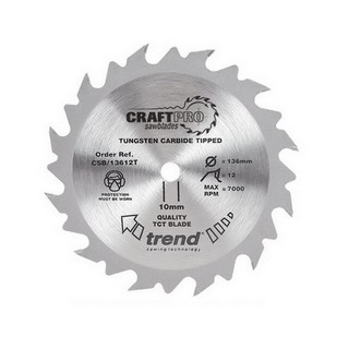 TREND CSB/18424TA CRAFT SAW BLADE 184MMX24TX16 THIN