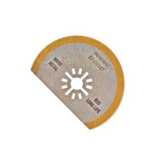 TREND OB/410/HT OSCILLATING BLADE SEGMENTED 80MM HSS TIN