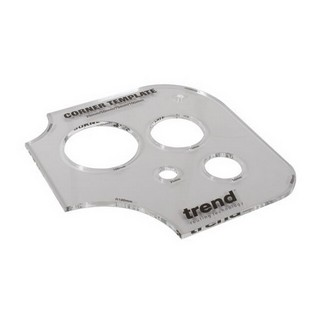 TREND TEMP/COR/A CORNER AND HOLE TEMPLATE 50/75/100MM