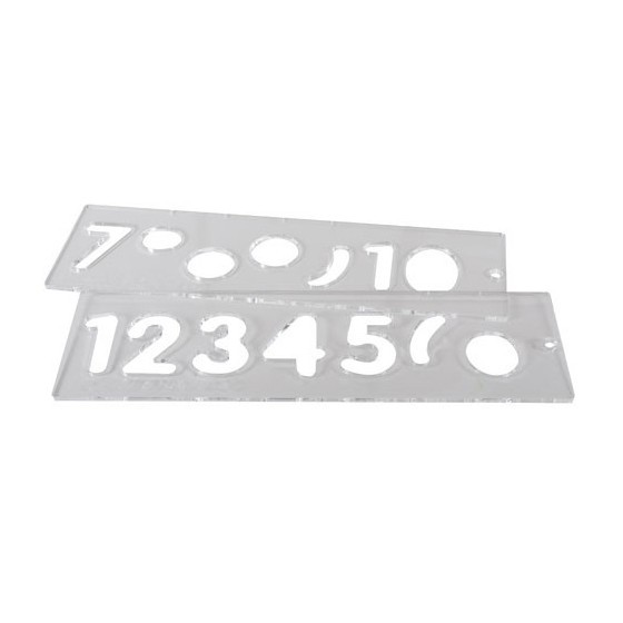 TREND TEMP/NUC/57 TEMPLATE SET 57MM