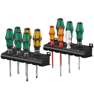 WERA KRAFTFORM XXL ARTISAN SCREWDRIVER SET SL/PH/PZ 12PC