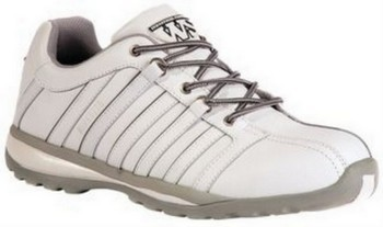 WORKSITE SS608SM WHITE SAFETY TRAINER (SIZE 9)